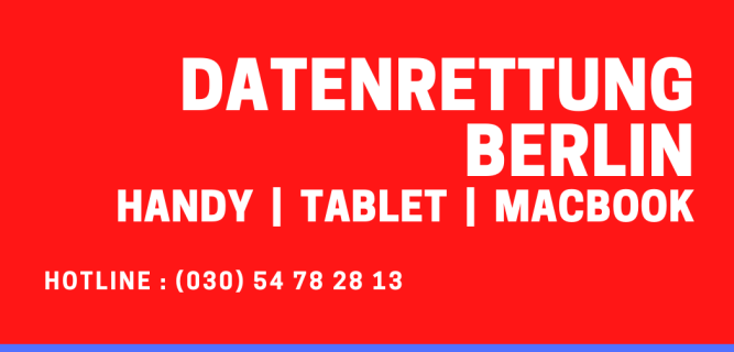 Datenrettung Berlin Handy Tablet MacBook